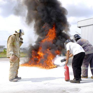 Brandschutztraining